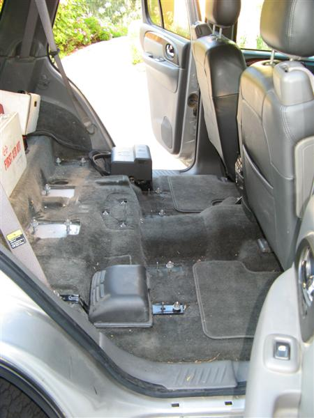 Help The Roadie Design A New Back Seat Area