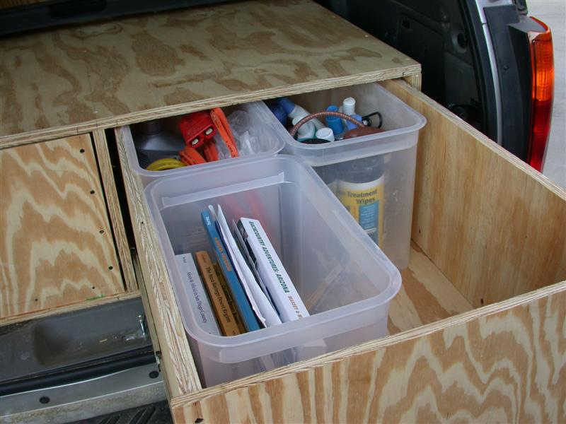 Covered with indoor outdoor carpeting and most of the aluminum edging installed & Post up your drawer/storage system | Expedition Portal