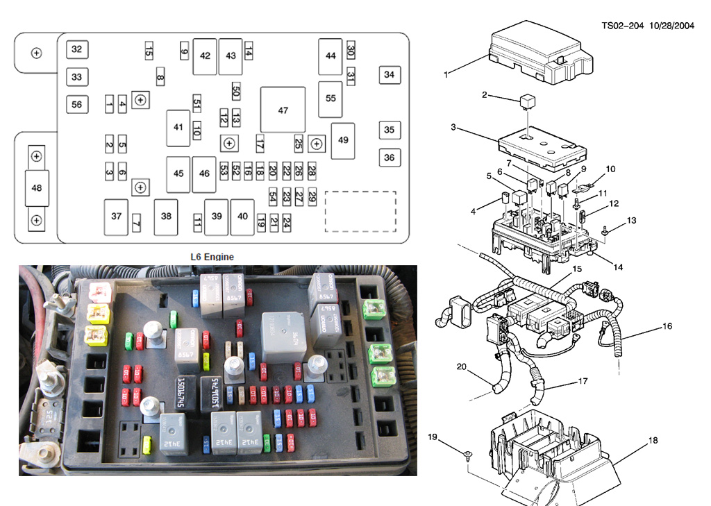 frontfuses orig p1482 code after replacing clutch fan gmtnation 2004 envoy fuse box diagram at gsmportal.co