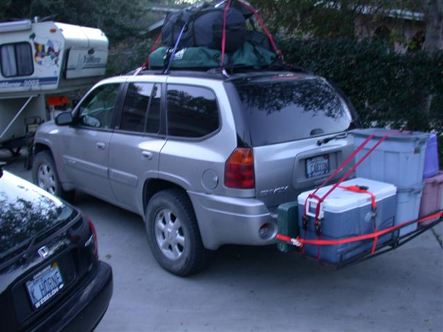 Roof Basket For Road Trippin Chevy Trailblazer