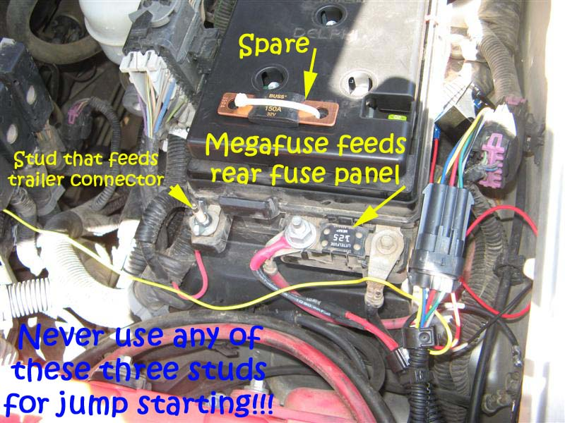 megafuse1 orig wierd electrical issue lots of stuff stopped working today 2005 Ford Explorer at n-0.co