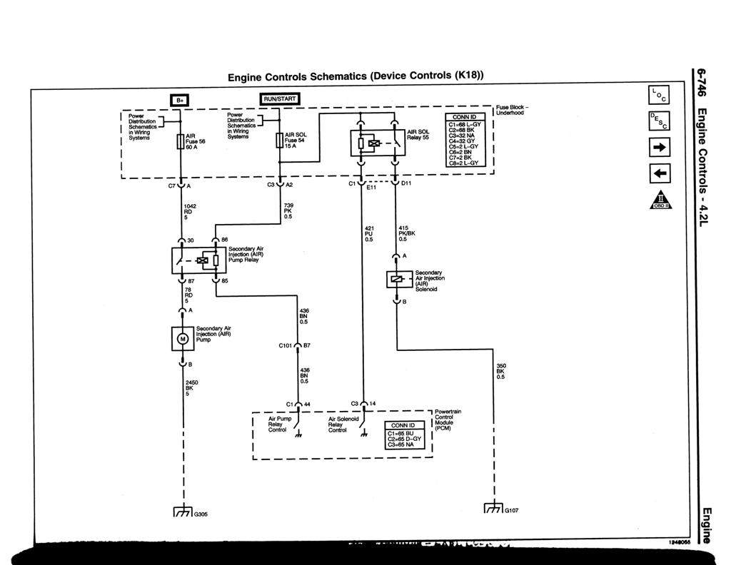 2004 Chevy Trailblazer Tranmission Wiring Diagram 49 Chevrolet Schematics Airpump1 Air Injection Solenoid And Pump Schematic At
