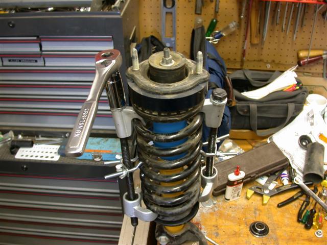 Show Me Your Coil Spring Compressors Chevy Trailblazer