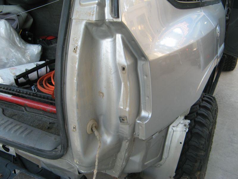 Black Horse Brand Tail Light Guards Chevy Trailblazer