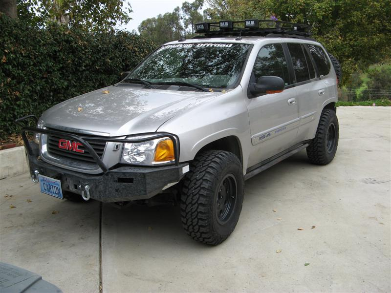 Tires on 2007 Gmc Envoy Rims