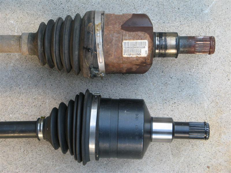 Cv Joint Stuck In Differential Chevy Trailblazer